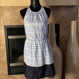 Dresses & Skirts - Striped Halter Neck Dress